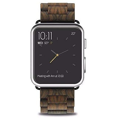 Mr.Gadget Solutions - Correa para Reloj de Pulsera de Madera ...