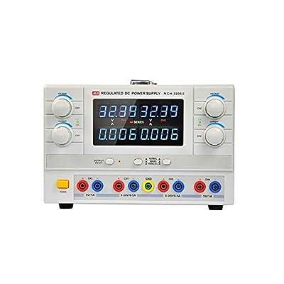 High Precision 4 Digits 32V 5A 110/220V Input Adjustable DC Power Supply MCH-3205-II Home Improvement Electrical (Size : 220V)