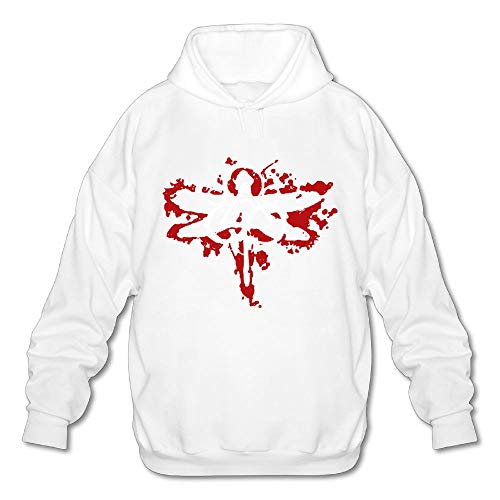 Sheafenie Men Coheed Cambria Men's Graphic Casual Style White Fleeces S - Cambria Hanging