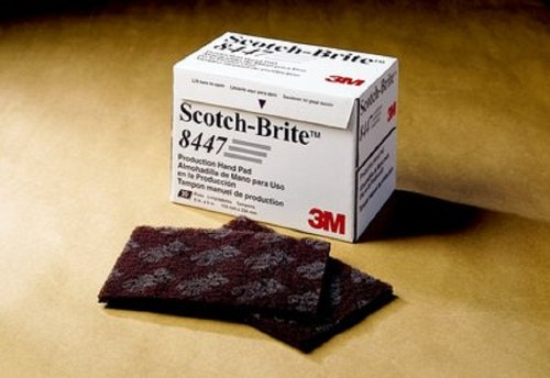 scotch-britetm-production-hand-pad-8447-aluminum-oxide-9-length-x-6-width-very-fine-grit-maroon-pack