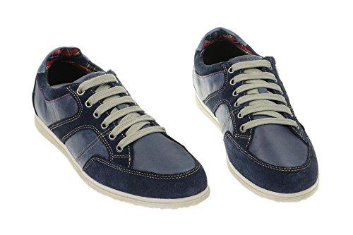 Geox Copacabana E - zapatillas de cuero hombre Azul