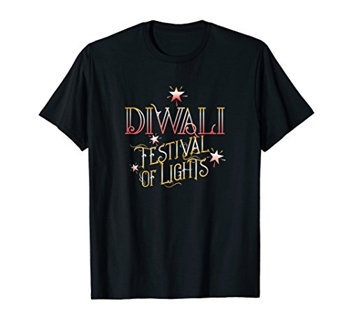 ''DIWALI Festival of Lights'' Celebrates Indian Tradition by Diwali Festival Tee by LAD Graphics