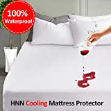 LEISURE TOWN Mattress Protector Full 100% Waterproof Mattress Pad Cover Breathable Fitted 8-21 Inch...