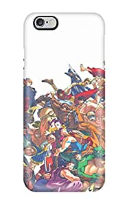 4915654K85768485 Fashionable Style Case Cover Skin For Iphone 6 Plus- Street Fighter
