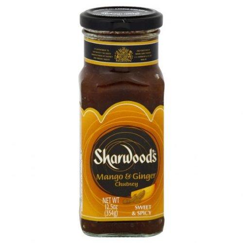Sharwood Mango Ginger Chutney, 12.5 Ounce (Pack of 6)