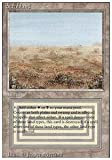 Magic: the Gathering - Scrubland - Revised Edition