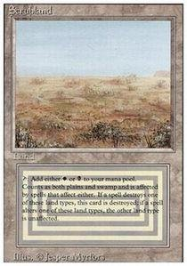 Magic: the Gathering - Scrubland - Revised ()