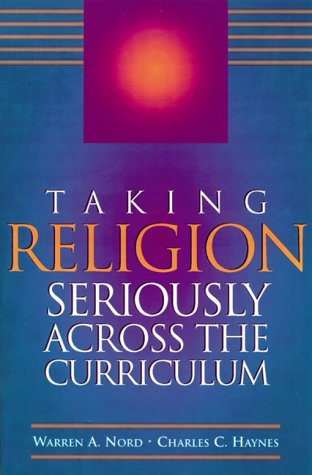 Cover of Taking Religion Seriously Across the Curriculum