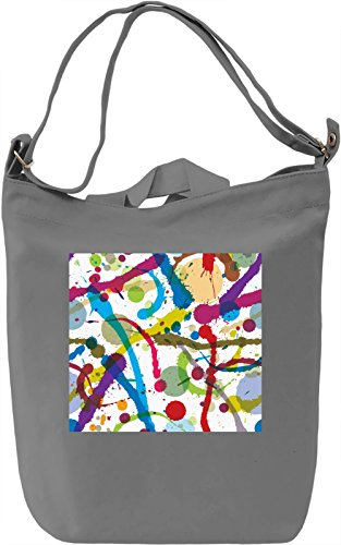 Abstract Painting Texture Borsa Giornaliera Canvas Canvas Day Bag| 100% Premium Cotton Canvas| DTG Printing|