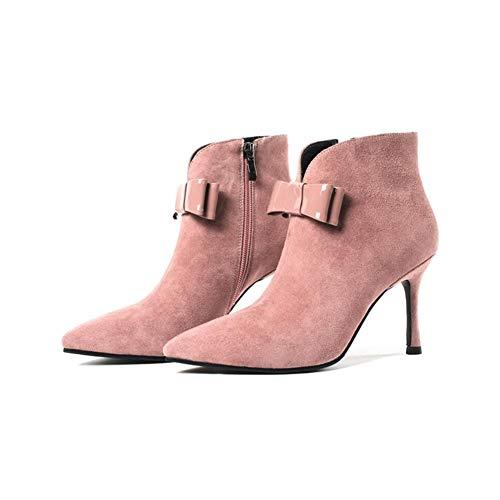 Un Stivali Bene Pelle Shoesleather Tacco Caduta Moda Martin Invernale Donna Stivali Per Bootie Dolce Ha Xue Di Stivaletti Caviglia Stivali Stivali BxORqqZn