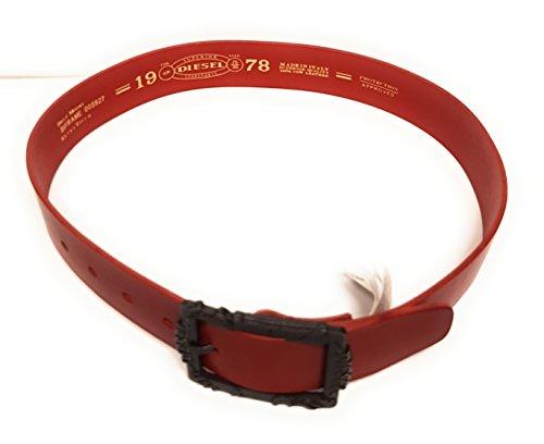 9a4bc326a1a8 Diesel - Ceinture - Femme Rouge Rot XL  Amazon.fr  Vêtements et accessoires