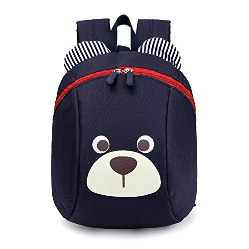 Best Quality - Kids Hot Schoolbag - Aged 1-3 Cartoon Cute School Backpack Anti-lost Kids Baby Bag Cute Animal Dog Children Backpacks Kindergarten School Bag - by Osaro Shop - 1 PCs -