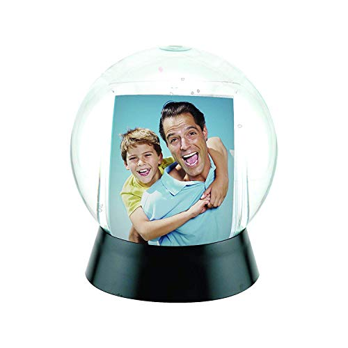 Neil Enterprises, Inc Photo Snow Globe with Black Base -