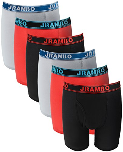 JRAMBO-Mens-Underwear-Soft-Cotton-Boxer-Briefs-with-Elastic-Waistband-6-Pack