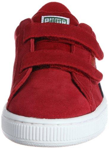 Puma - Zapatillas para hombre rojo-azul