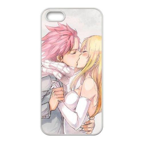 Fairy Tail 025 coque iPhone 4 4S Housse Blanc téléphone portable couverture de cas coque EOKXLLNCD14378