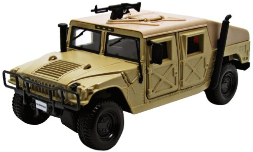 Maisto 1:27 Scale Humvee Diecast Vehilce (Colors May Vary)