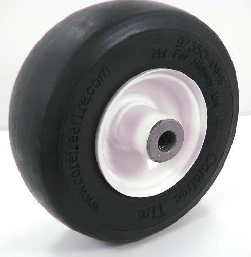 Solid Flat Free Front Wheel Fits Exmark, Toro. 32, 36, 48, 52