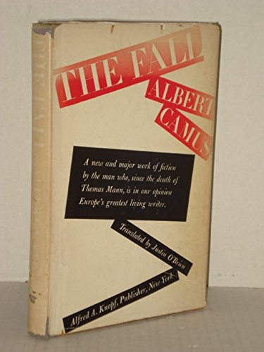 The Fall By Camus  Albert