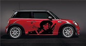 Amazon.com: Anime Car Vinyl Graphics Manga Sexy Ninja Girl ...