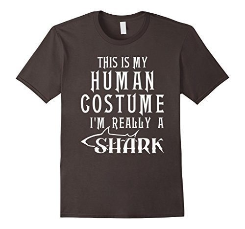 Mens Shark Halloween Costume T-Shirt Humor Tee for Men Boys Girls 3XL (College Humor Halloween Ideas)