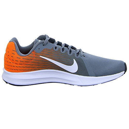 Nike Men's Downshifter 8 Running Shoes Grey (Cool Grey/White/Hyper Crimson/003) HQpp4