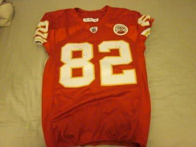 Amazon.com: 2010 Kansas City Chiefs Game Used Jersey Dwayne Bowe ...