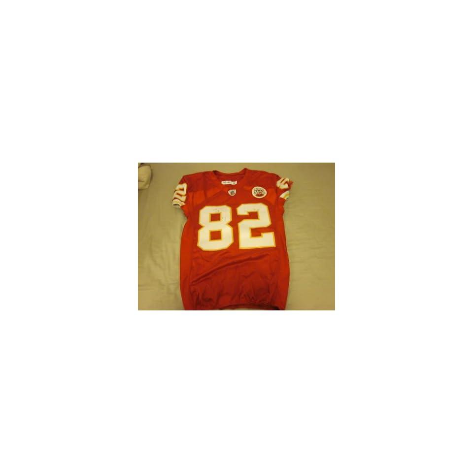 2010 Kansas City Chiefs Game Used Jersey Dwayne Bowe   NFL Jerseys