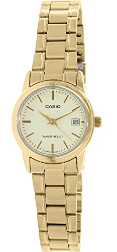 Casio - Watch - LTP-V002G-9A - Casio Watch Ltp Womens