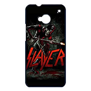 Horror Bloody Solider Anthrax Speed Metal Band Slayer Phone Case Cover for Htc One M7 Slayer Personalized Cover Shell