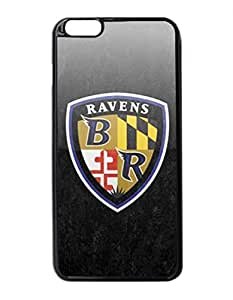 "Baltimore Ravens Hard Snap On Protector Sport Fans Case Cover iPhone 6 Plus 5.5"" inches by DyannCovers"