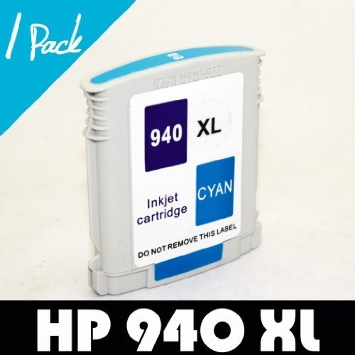 1 pk For HP 940 XL CYAN Ink Cartridge For Officejet Pro 8000 8000 Wireless 8500 8500 Wireless 8500 Premier 8500a A910a 8500a Plus A910g 8500a Premium A910n