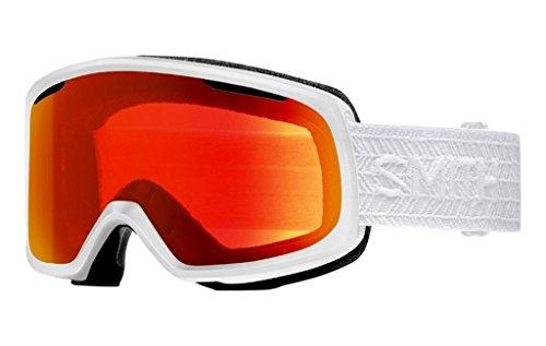 Smith Riot Snow Goggle - Women's White Eclipse / Chromapop Everyday One - Smith Opticals