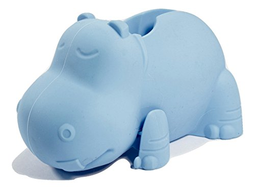 Faucet Cover (Blue Hippo) Child Safety Protection Cover by Aurelie Live Well.