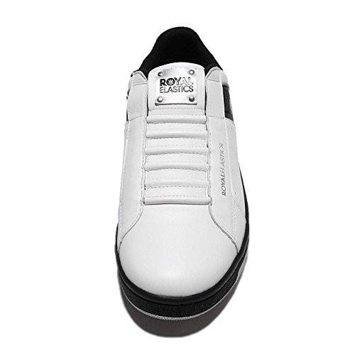 Royal Elastics Mens Icon, White/Black/Silver White/Black/Silver