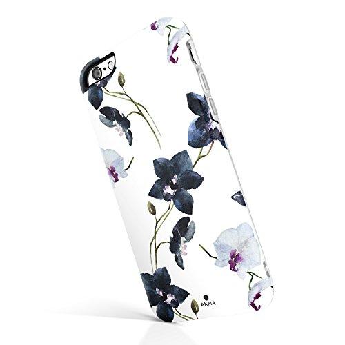 Akna iPhone 6 Plus/6s Plus case floral, Collection Flexible Silicon Cover for both iPhone 6 Plus & 6s Plus [Vintage (Vintage Orchid)