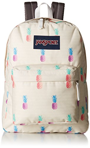 Adult Unisex Pineapple Black Punch Backpack Superbreak Label Jansport THwOqFO