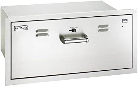 FireMagic Premium Flush Mounted Masonry Drawer (Warming Drawer)