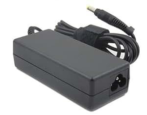 HP 381090-001 adaptador e inversor de corriente - Fuente de alimentación (100-240V, 50/60 Hz, 65W, Interior, Portátil, Compaq Presario B1200, CQ20, CQ40, CQ50, CQ60, CQ70 Notebook Series HP 2133 Mini-Note PC) Negro