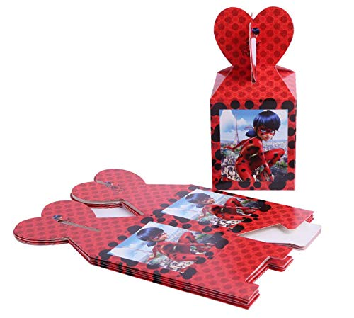 Astra Gourmet Miraculous Ladybug Candy Boxes (Set of
