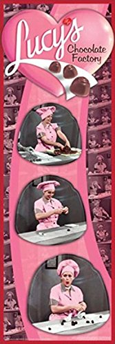 The I Love Lucy Show - Chocolate Factory 36x12 Classic TV Art Print Poster