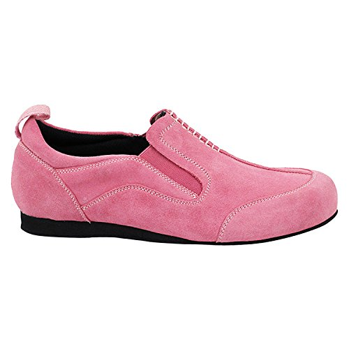 50 Thick 701bbx Pigeon Party Shades Party Art Tango Dress Theather Suede by Dance Swing Pink Heel~ Shoes Cuban Ballroom Women Collection Shoes Practice Latin Teaching of Gold Salsa xEfX4x