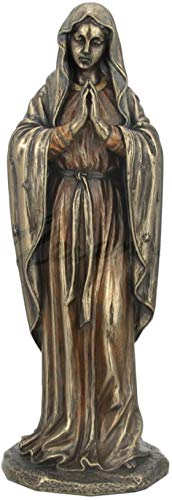 JFSM INC Blessed Virgin Mary in Prayer Statue Sculpture Figurine