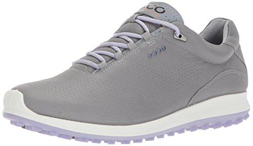 ECCO Women's Biom Hybrid 2 Perforated Golf Shoe, Wild Dove/Crocus, 8 M US ()