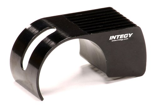 Integy RC Hobby C23764BLACK Machined Clip-On 9 Fin Type Allo