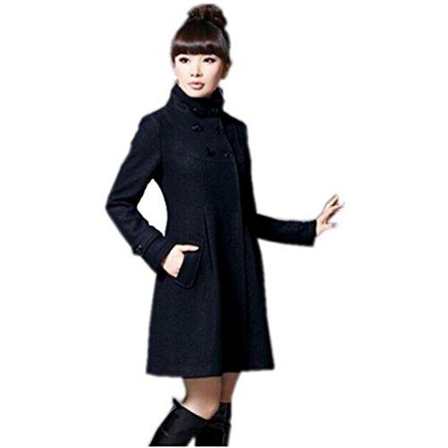 Manteau de Partiss laine en femme d'hiver cachemire HwR0FX1q