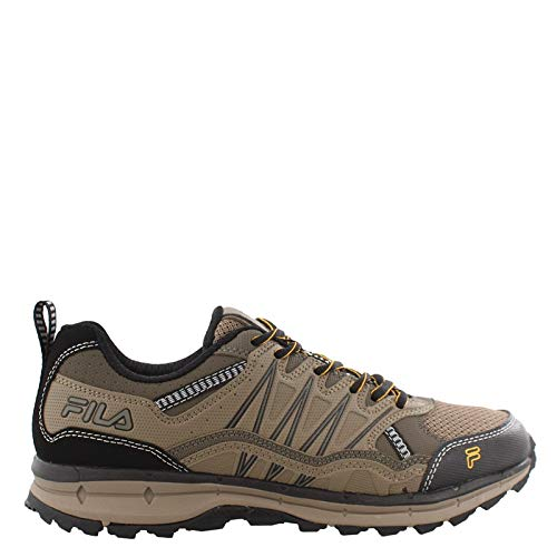 Fila Men's, Evergrand TR Trail Running Sneakers Brown 8 M