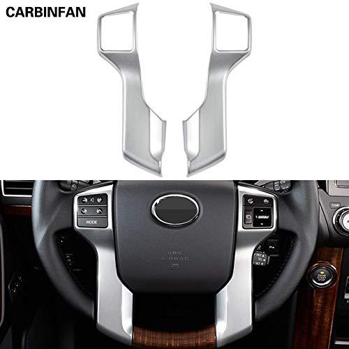 Exterior Parts Interior Steering Wheel Cover Trim Chrome Car Styling Accessories For Toyota Land Cruiser 150 Prado Lc150 Fj150 2010-2017