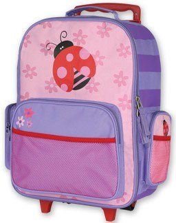 Amazon.com | Stephen Joseph Children's Rolling Luggage Ladybug ...
