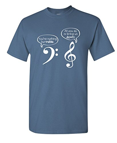 Mandolin Brothers (You are Nothing But Treble Funny Music Band Adult Humor Very Funny T Shirt XL Dusk)